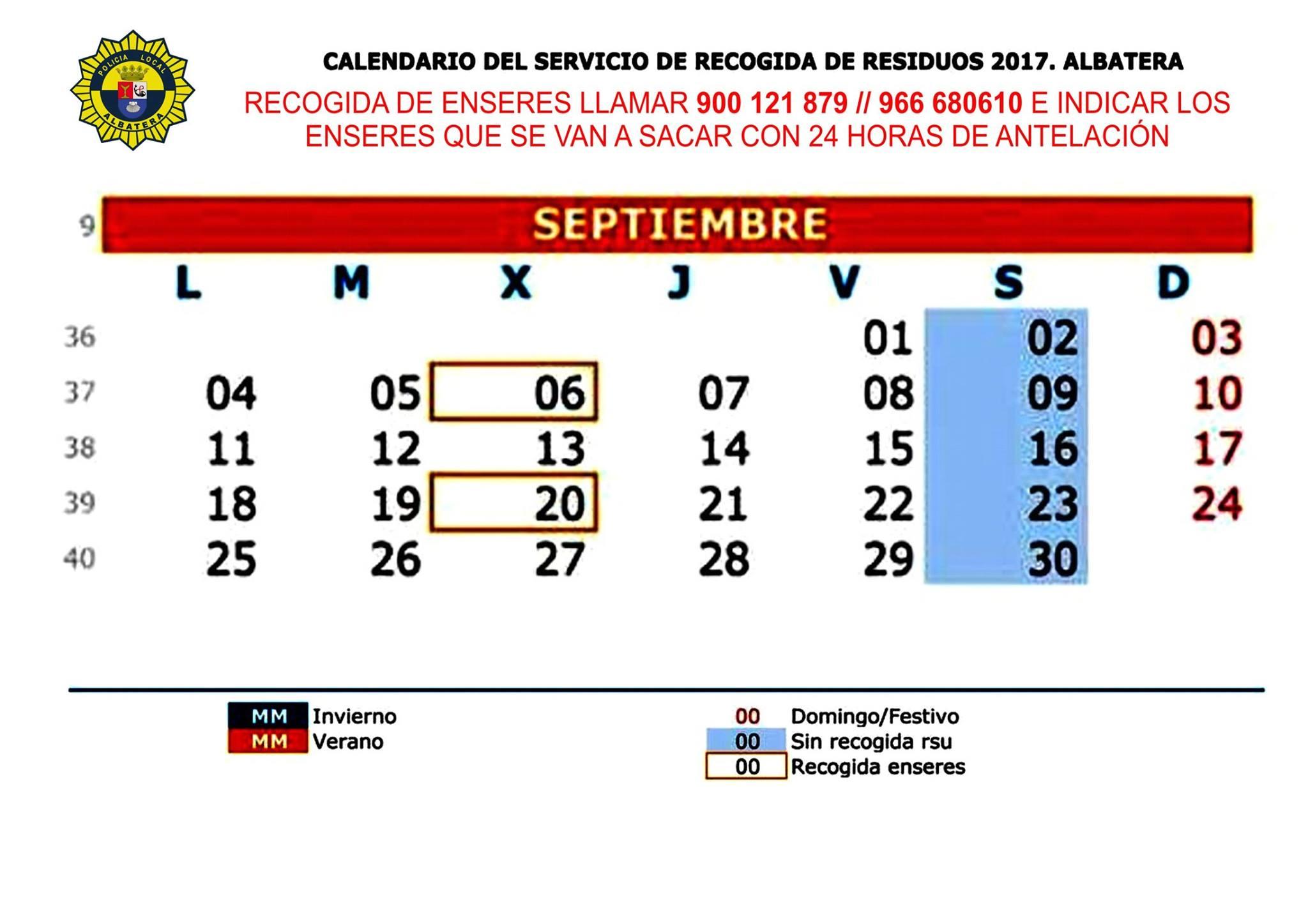 Calendario de farmacias de guardia y recogida de enseres de septiembre albatera actualidad - Farmacia guardia puerto del rosario ...