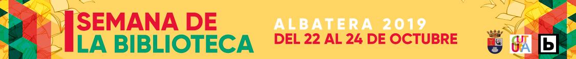 Semana de la Biblioteca Albatera 2019